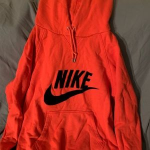 Nike WMNS Hoodie bright red